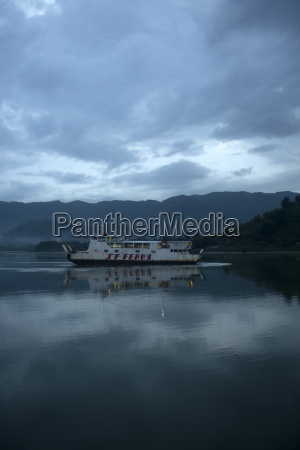 indonesia lombok island ferry on the