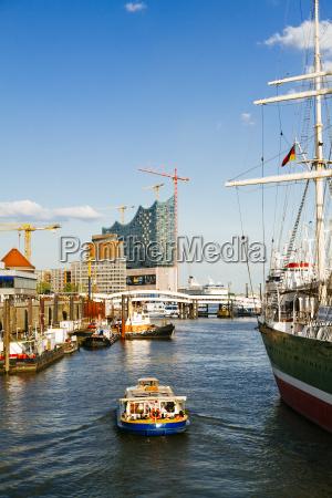 germany hamburg sailing ship rickmer rickmers