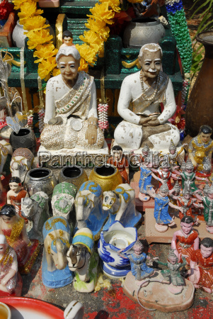 thailand altar of chinese temple near