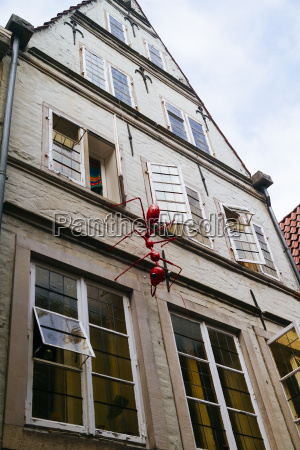 germany bremen large ant figure at