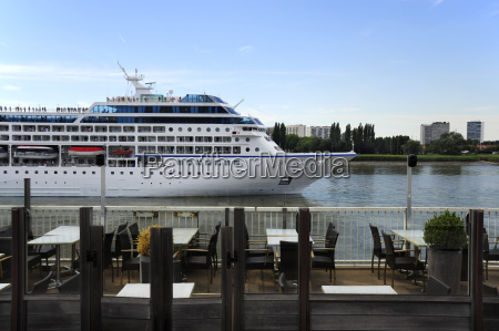 belgium flanders antwerp cruise ship cafe