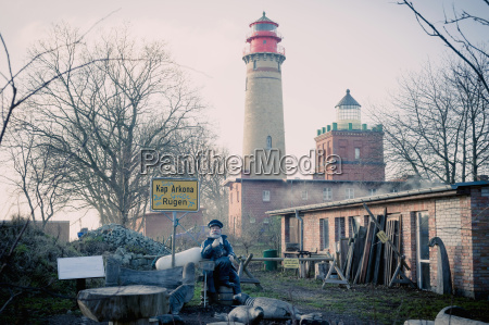 germany mecklenburg western pomerania ruegen lighthouse