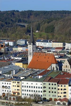 germany upper bavaria wasserburg on inn