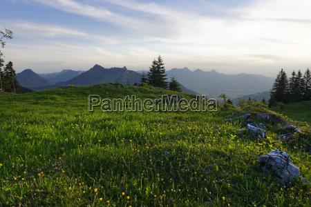 germany bavaria upper bavaria chiemgau alps