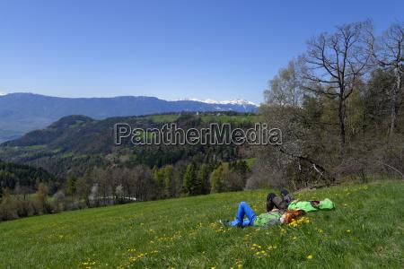 italy south tyrol wolfsgruben near oberbozen
