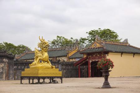 vietnam hue golden dragon in forbidden