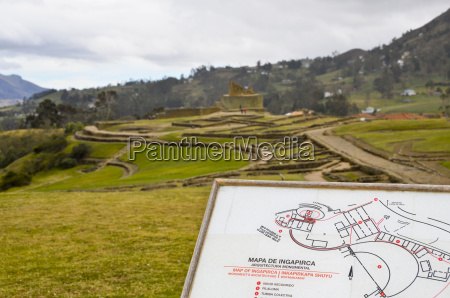 ecuador quito view of famous incan