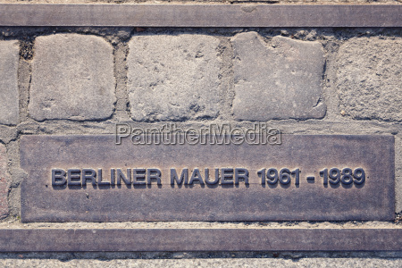 germany berlin berlin wall memorial at