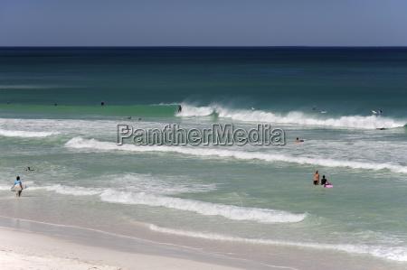 australia western australia lancelin people surfing