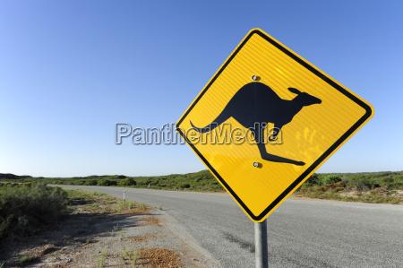 australia western australia cervantes road with