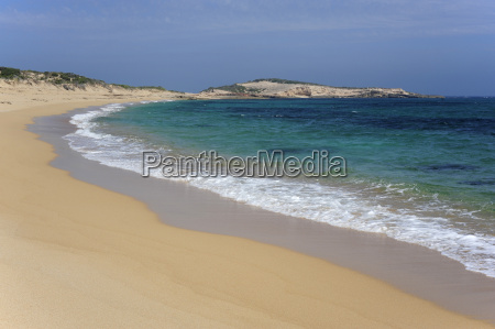 australia south australia beachport empty beach