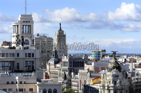 spain madrid historic city center circulo