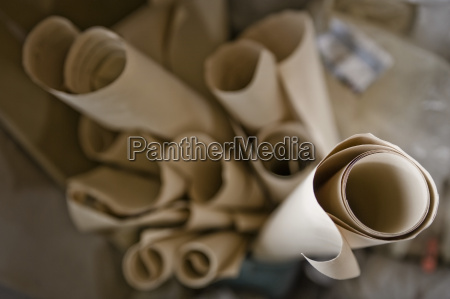 germany bavaria rolls of paper in