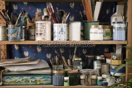 germany bavaria shelf with tools