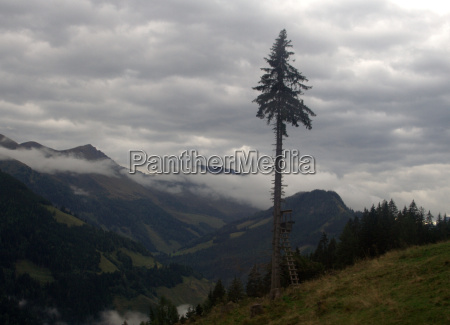 clouds over the rauris valley