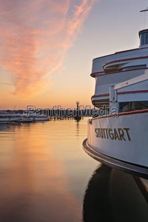 germany constance stuttgart view of ship