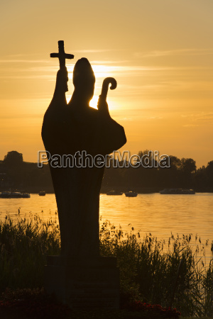 germany statue of holy pirmin at