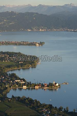 germany bavaria lake constance wasserburg lindau