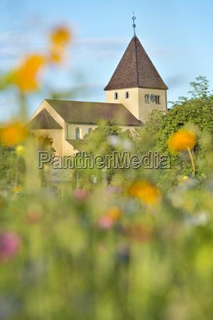 germany baden wurttenberg reichenau island church