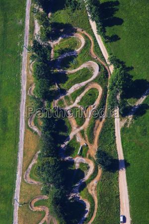 germany bavaria lenggries brauneck aerial view