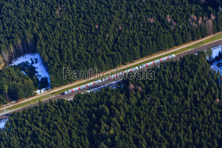 germany bavaria holzkirchen aerial view of