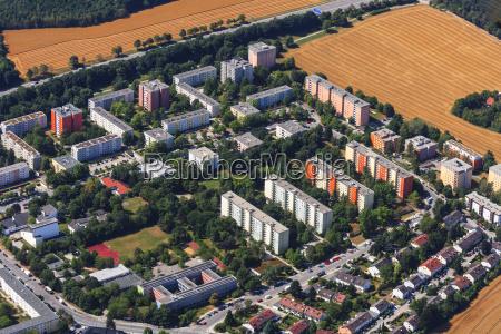 germany bavaria munich blumenau residential buildings