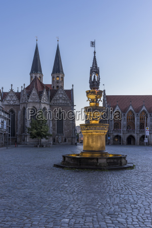 germany lower saxony braunschweig old town
