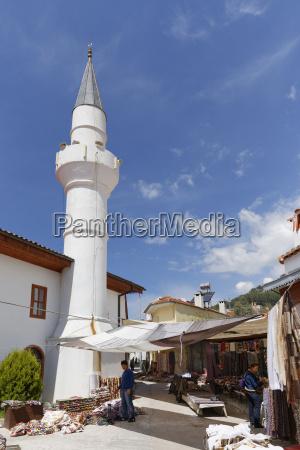 turkey mugla view of pazar mosque