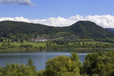 austria carinthia view of st georgen