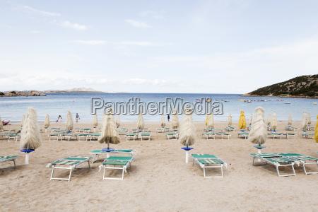 italy sardinia view of beach