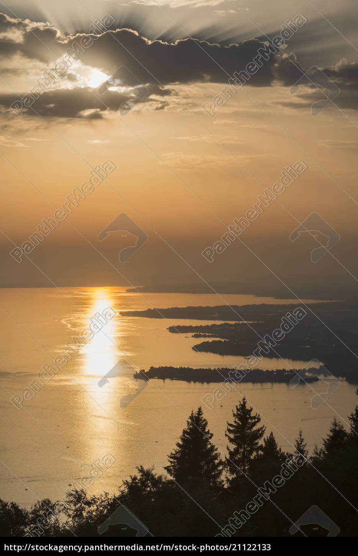 austria, , vorarlberg, , lake, constance, , bregenz, , view - 21122133