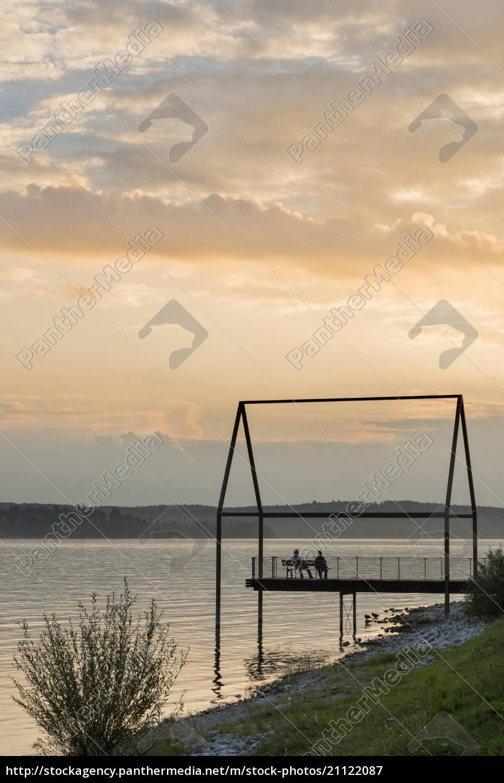 germany, , baden-wuerttemberg, , lake, constance, , unteruhldingen, , lakeshore - 21122087