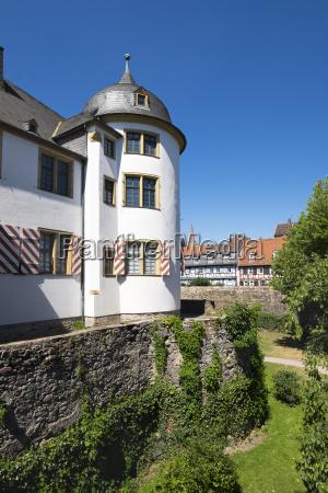 germany hesse frankfurt hoechst old castle