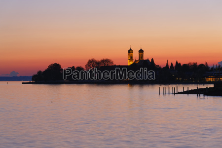 germany friedrichshafen lake constance view to
