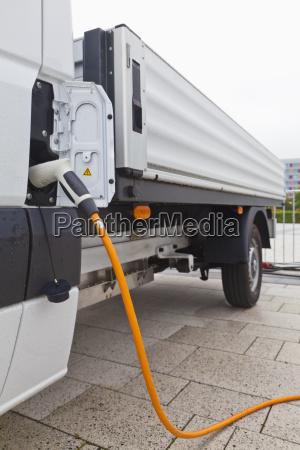 germany baden wuerttemberg stuttgart electric truck