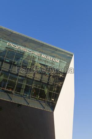 germany baden wuerttemberg stuttgart porsche museum