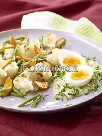 leipzig mixed vegetable with frankfurt green