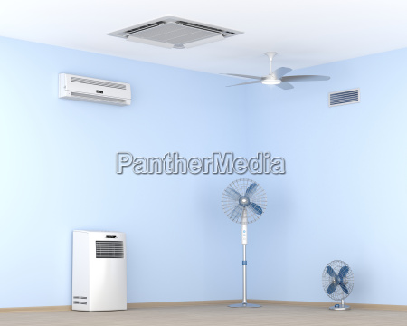 different types of electric cooling devices