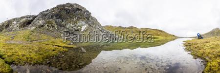 austria tyrol kauner valley weisssee lake