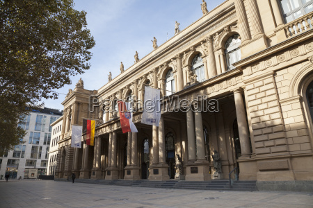 germany hesse frankfurt stock exchange