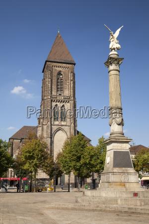 germany north rhine westphalia oberhausen altmarkt
