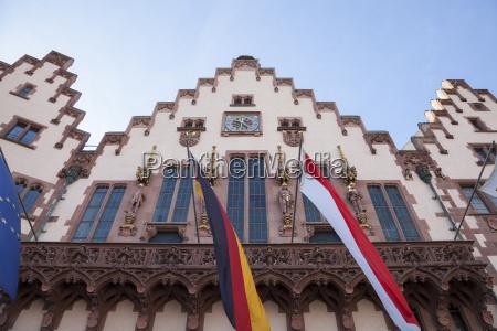 germany, , hesse, , frankfurt, , town, hall, roemer - 21128525
