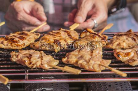 thailand phang nga near khuekkhak chicken