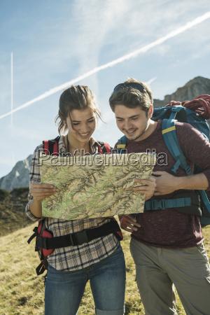 austria tyrol tannheimer tal young hikers