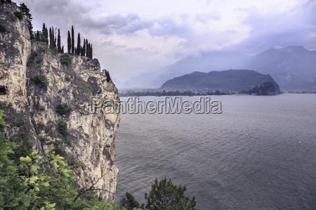 italy trentino lake garda at riva