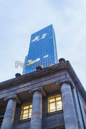 germany hesse frankfurt deutsche bundesbank building