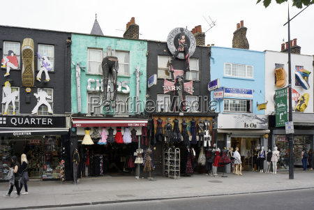 uk london camden souvenir shop and