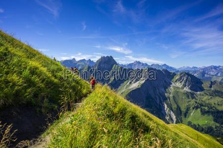 germany bavaria allgaeu alps laufbacher eck