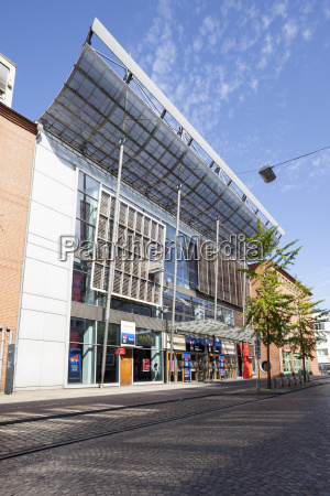 germany bremen view to facade of