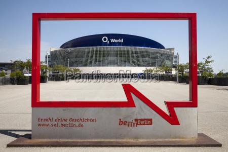 germany berlin friedrichshain o2 world and